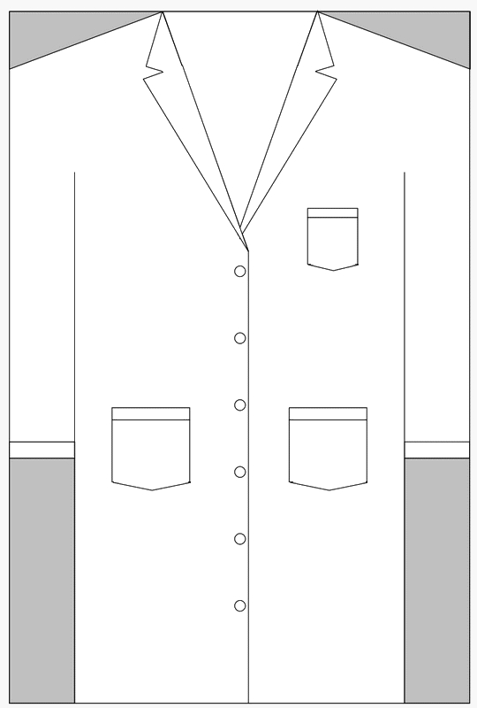 lab coat coloring pages - photo #24