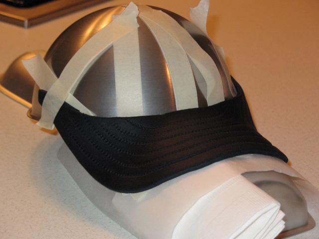 How Do I Make A Baseball Hat Cake CakeCentralcom