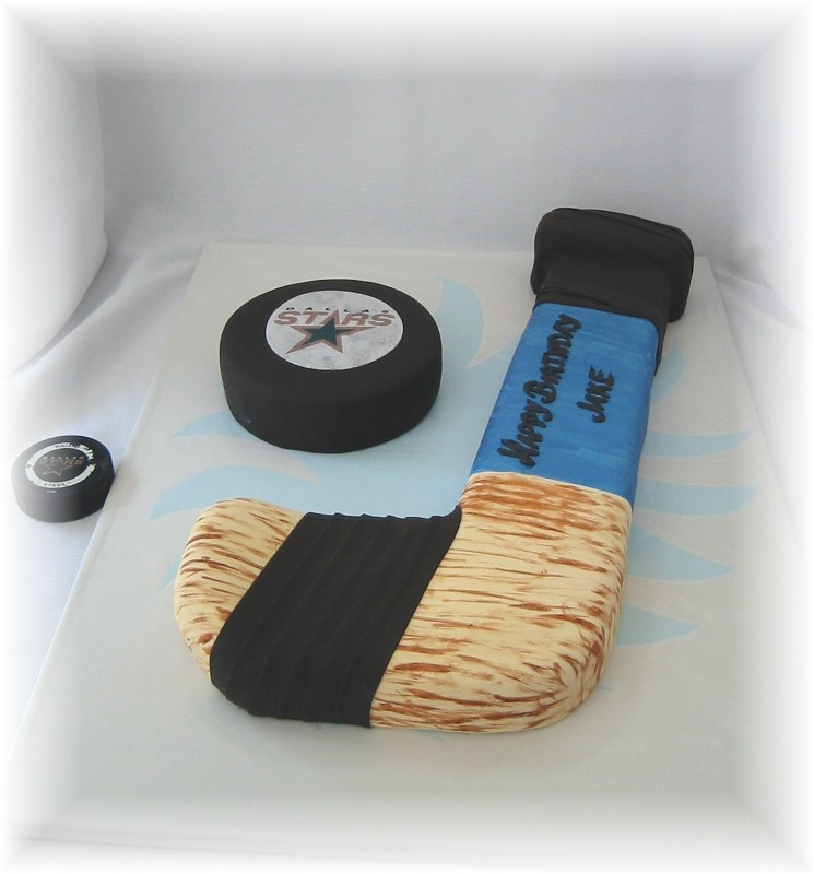 Ice Hockey Birthday Cake Please Help