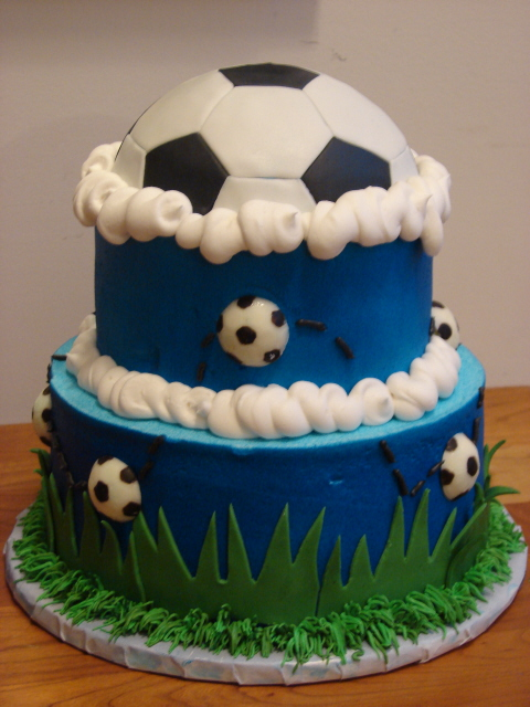 How Do I Get The Soccer Ball Pattern On The Cake