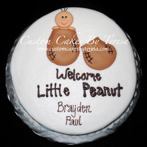 Help Peanut Themed Baby Shower Cakecentral