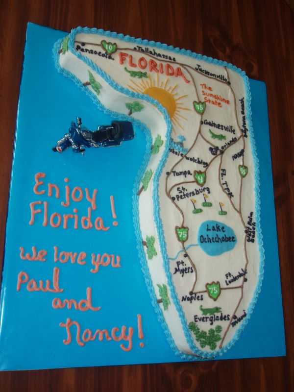 Need Some Fast Advice On This Fla Shaped Cake Plz Cakecentral