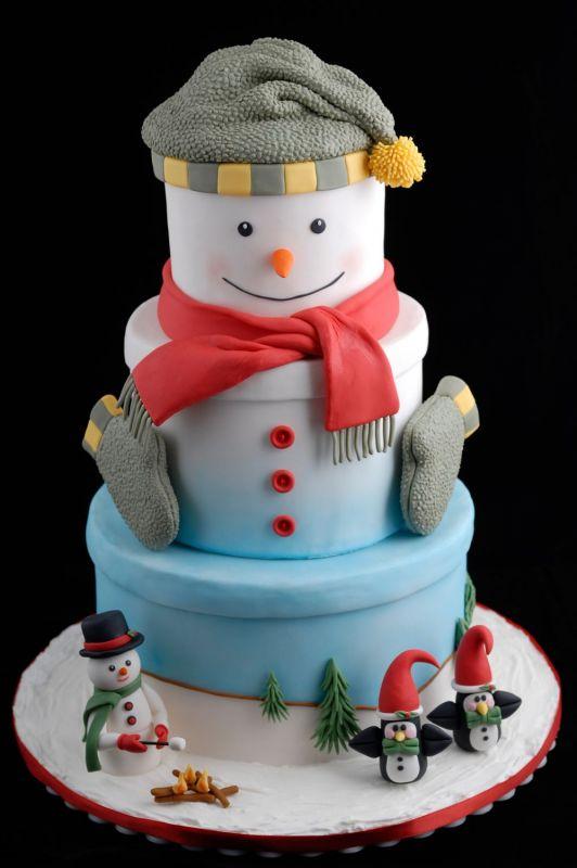 Christmas Cake Designs Novelty : Novelty Christmas Cake - CakeCentral.com