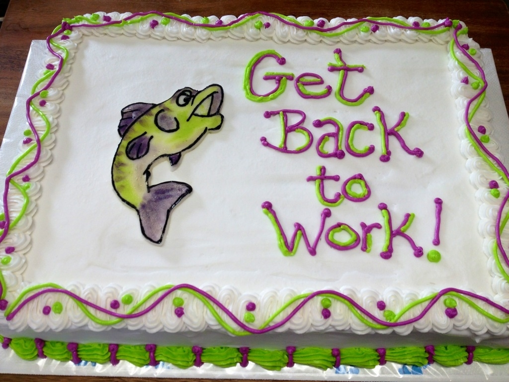 For a co worker out due to surgery.