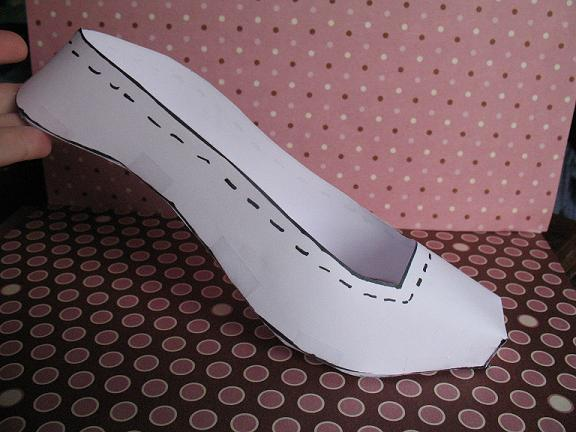 Fondant Template For This Shoe? Is It Available? - CakeCentral.com