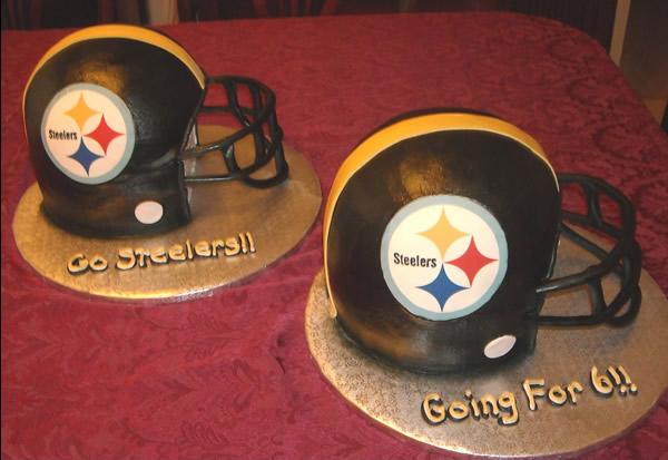 How Do You Make A Football Helmet Cake