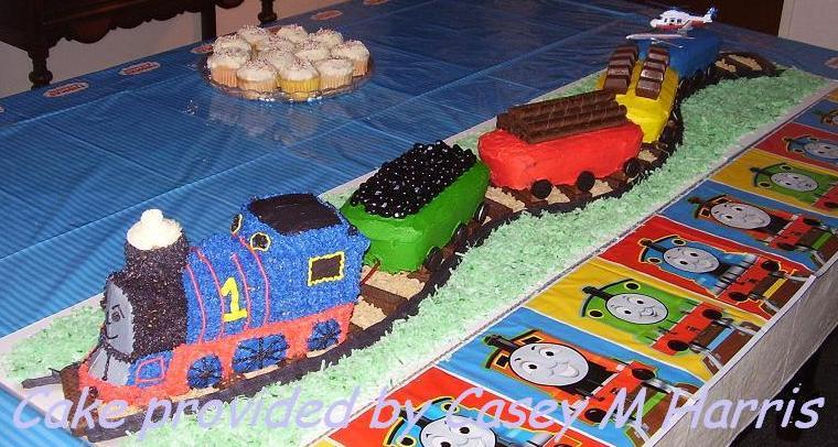 Thomas The Train D Cake Instructions
