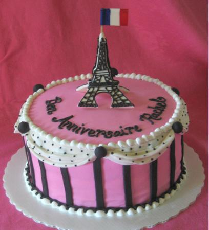 3D Eiffel Tower Cake Topper CakeCentralcom