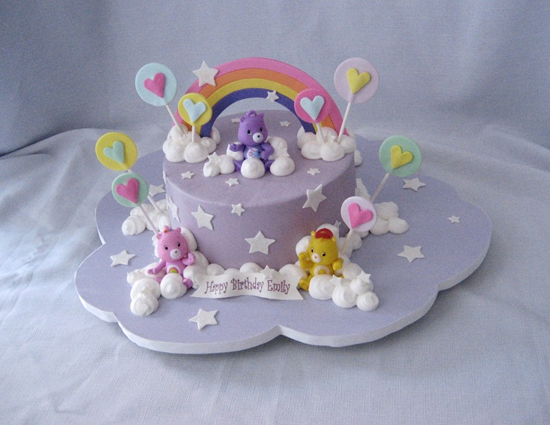 Best Way To Make A Rainbow For Carebear Cake Cakecentral Com