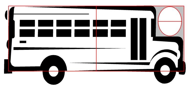school bus pattern printable