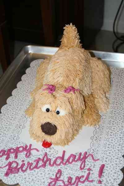 3 D Dog Instructions Please Help CakeCentralcom