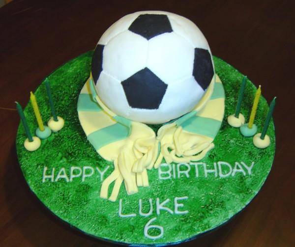 Soccer Ball Cake CakeCentralcom