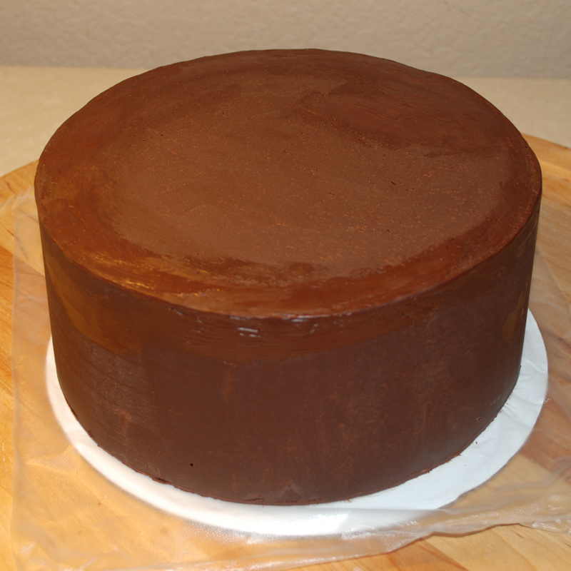Chocolate Ganache Recipe To Cover Cake Before Icing