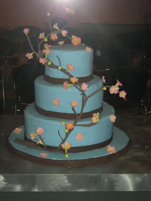 Need Help - Cherry Blossoms Cake - CakeCentral.com