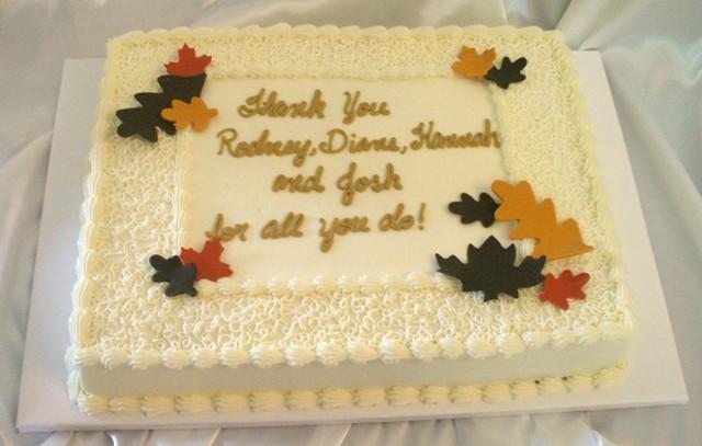 Happy Anniversary Cake Flags