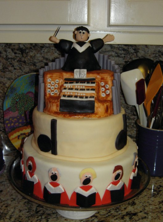 Need Ideas - Choir Director Welcome Cake - CakeCentral.com