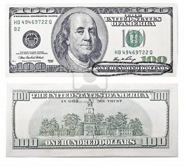 Happy Birthday $100 Dollar Bill - CakeCentral.com