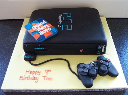 Playstation Wedding Cake