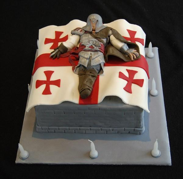 Cake Design Assassin S Creed : Assassins Creed Cake Q... - CakeCentral.com