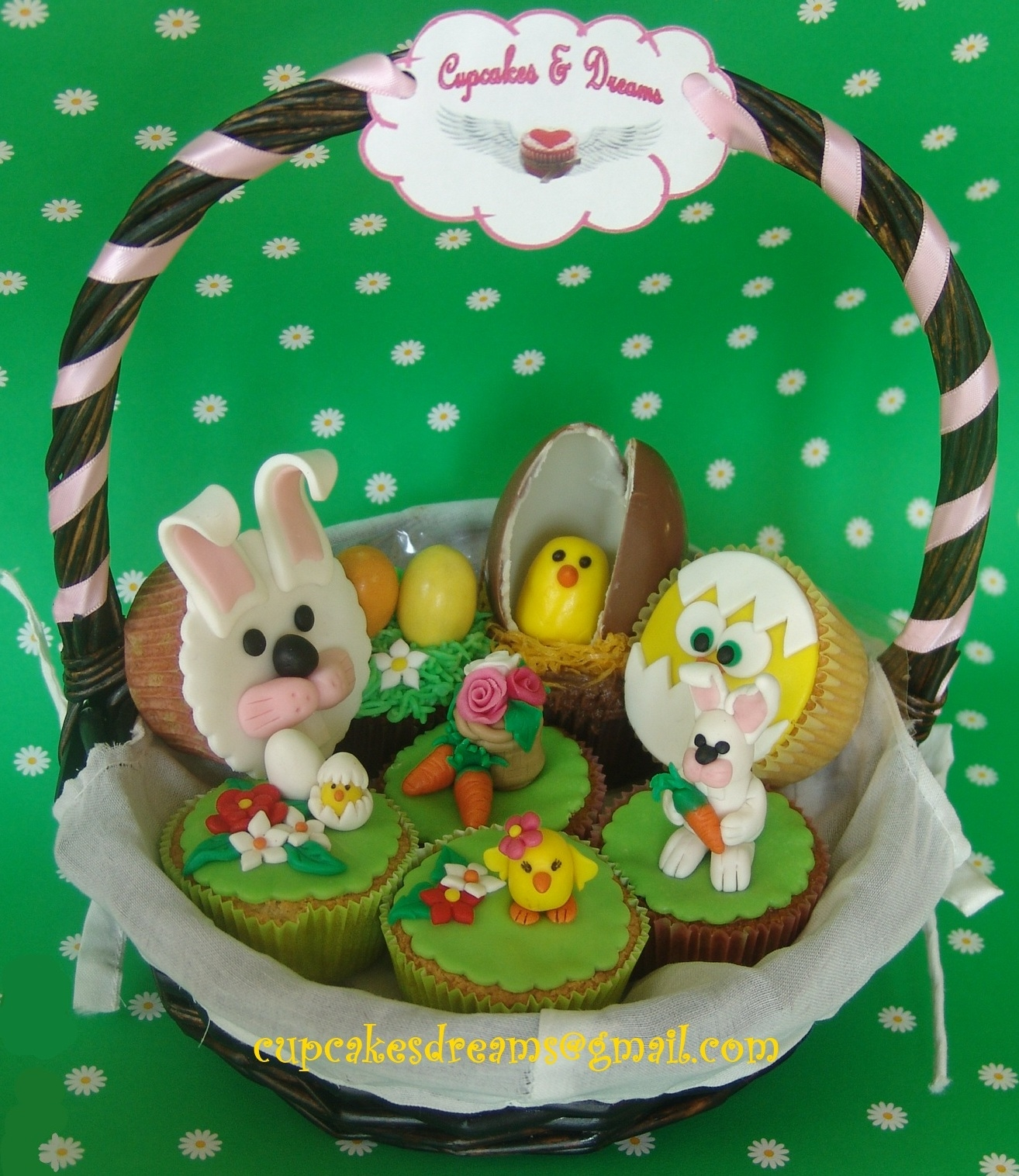 Did this basket for Easter?everybody loved it?hope you liked it?I loved doing them, so much fun?