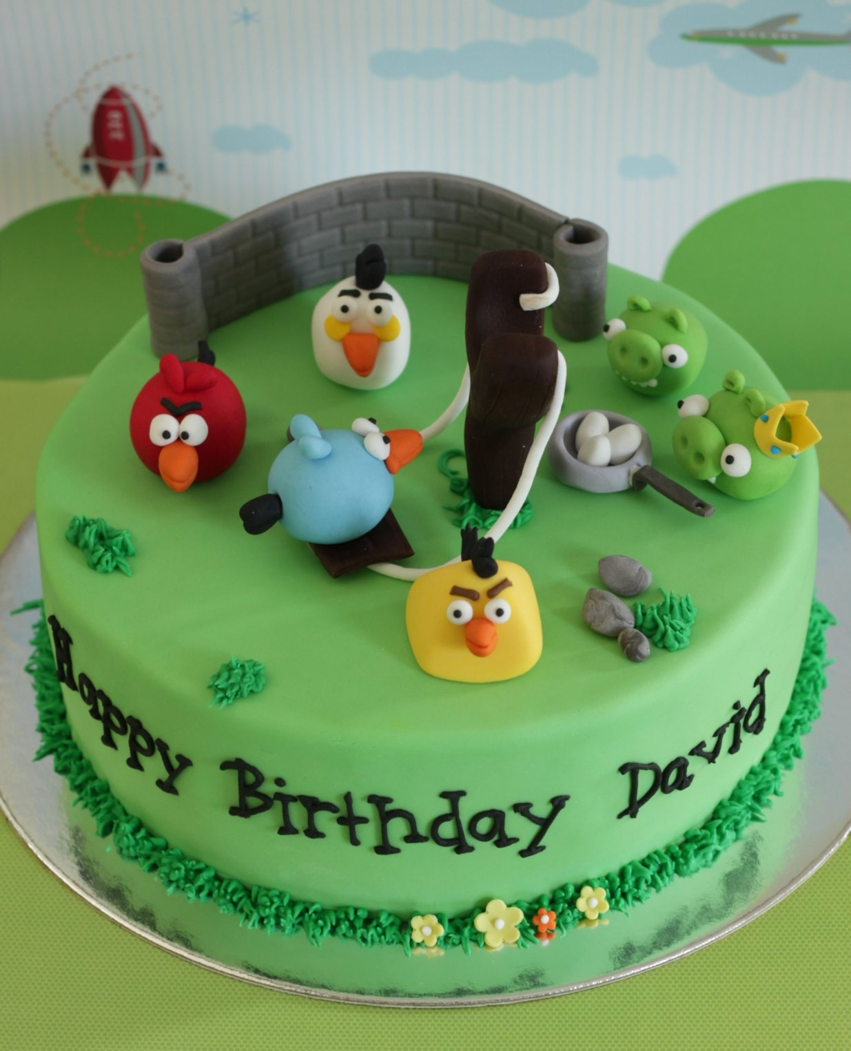 Decorada's photos in 2011 Angry Birds Cake Contest