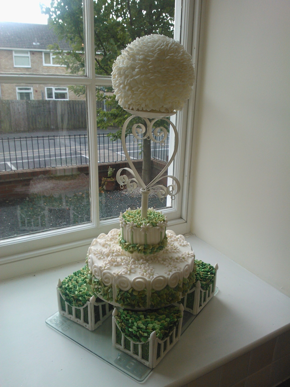 Capability Brown inspired cake